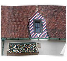 Creative Roof Tiles Poster