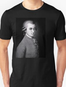 Wolfgang Amadeus Mozart   The Wighte Collection T-Shirt