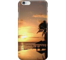 Sunset in Hawaii iPhone Case/Skin