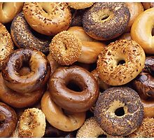 It's All About That Bagel Photographic Print
