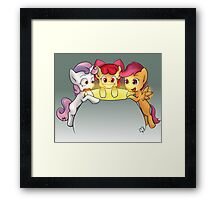 We'll Get Our Cutie Marks For Sure! Framed Print