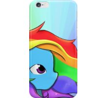 Rainbow Dash, v2 iPhone Case/Skin