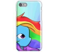 Rainbow Dash, v2 iPhone Case/Skin