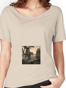 ruby beach, wa, usa old school (square) Women's Relaxed Fit T-Shirt