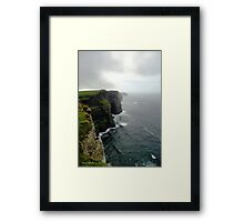 Moher and More Cliffs Framed Print