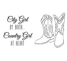 Country Girl Photographic Print