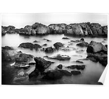 Wye River Beach Rocks - 1 Poster