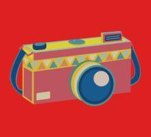 Say Cheese! - retro Camera Baby Tee