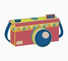 Say Cheese! - retro Camera Kids Clothes