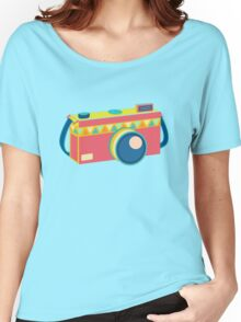 Say Cheese! - retro Camera Women's Relaxed Fit T-Shirt