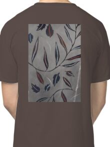 Willow Leaves. Print of Embroidered Textile Classic T-Shirt