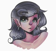 Pointy Ears and Piercings by eiero