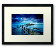Bare Island  Framed Print