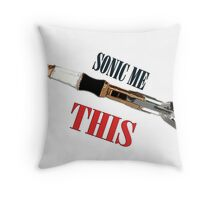 Sonic Me This Throw Pillow