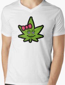 Little Bow Toke Mens V-Neck T-Shirt