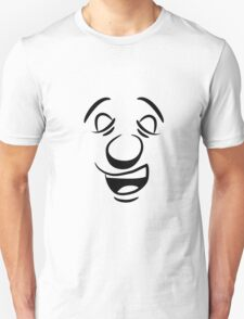 face big mouth Unisex T-Shirt