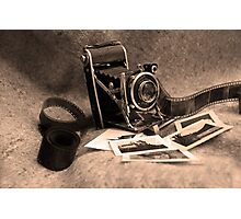 Old camera Photographic Print