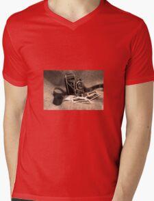 Old camera Mens V-Neck T-Shirt