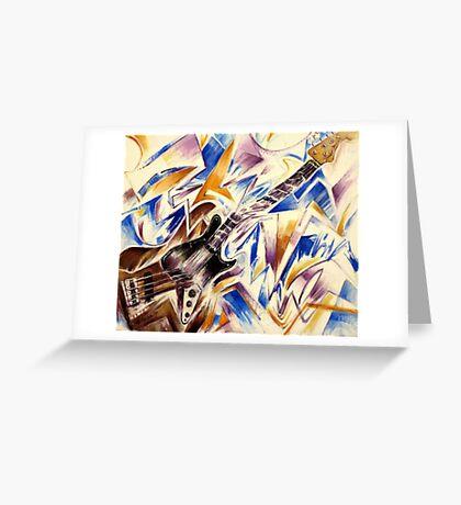 Fender Jazz Bass Greeting Card