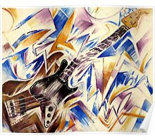 Fender Jazz Bass Poster