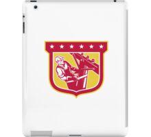 Power Lineman Telephone Repairman Shield iPad Case/Skin