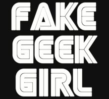 Fake Geek Girl by clairemax