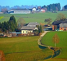 Beautiful traditional farmland scenery II   landscape photography by Patrick Jobst