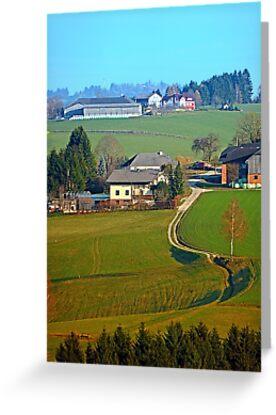 Beautiful traditional farmland scenery II | landscape photography by Patrick Jobst