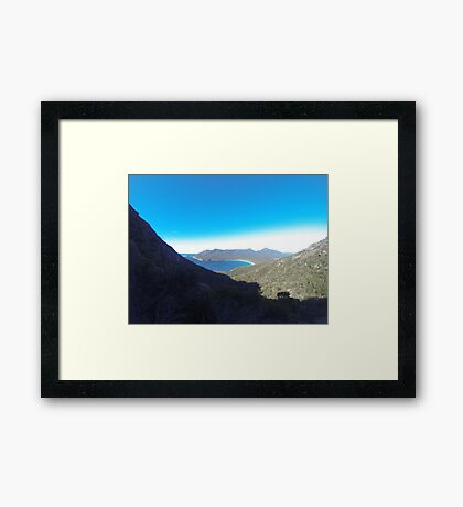 Tasmanian Environment  Framed Print