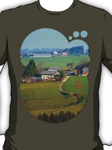 Beautiful traditional farmland scenery II | landscape photography T-Shirt