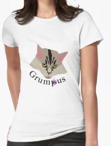 Grumpus (black font) Womens Fitted T-Shirt
