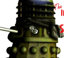 Adventure Stories The Ironside from Skaro Sticker