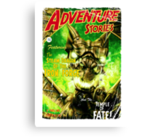 Adventure Stories The Steam Dragon of the Iron Forge Canvas Print