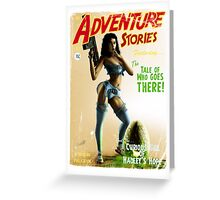 Adventure Stories The Tale of who Goes There Greeting Card