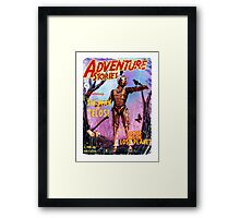 Adventure Stories The Tin Man of Telos Framed Print