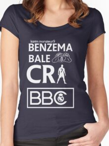 BBC Real Madrid Women's Fitted Scoop T-Shirt