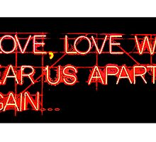 Love Will Tear Us Apart (NEON) by JoelCortez