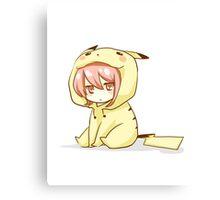 Pikachu ~ chan Canvas Print