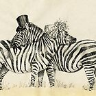 Fancy Zebra Couple by Redilion
