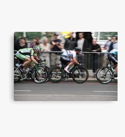 Mark Cavendish Tour of Britain 2013 Canvas Print