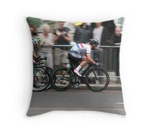 Mark Cavendish Tour of Britain 2013 Throw Pillow