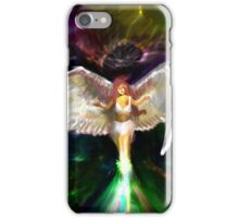 Angel Visits iPhone Case/Skin