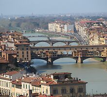 Florence Bridges, Italy by MelTho