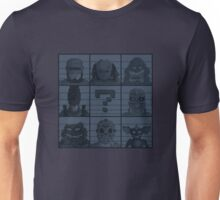Select your character Unisex T-Shirt