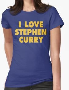 I LOVE STEPHEN CURRY Golden State Warriors Basketball T-Shirt