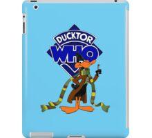 Ducktor Who iPad Case/Skin