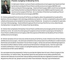 Beverly Hills Plastic Surgeon by noseandface