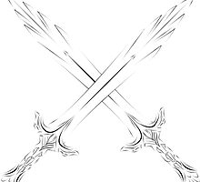 Glass swords cross by Fascicle