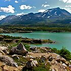 St. Elias Mountain range by Nancy Richard