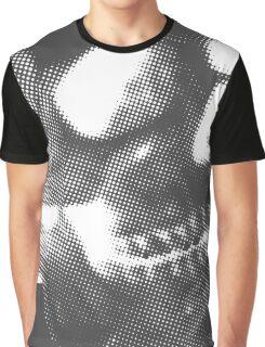 Skull White Graphic T-Shirt